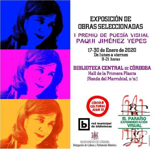 I Premio de Poesia Visual Paqui Jiménez Yepes